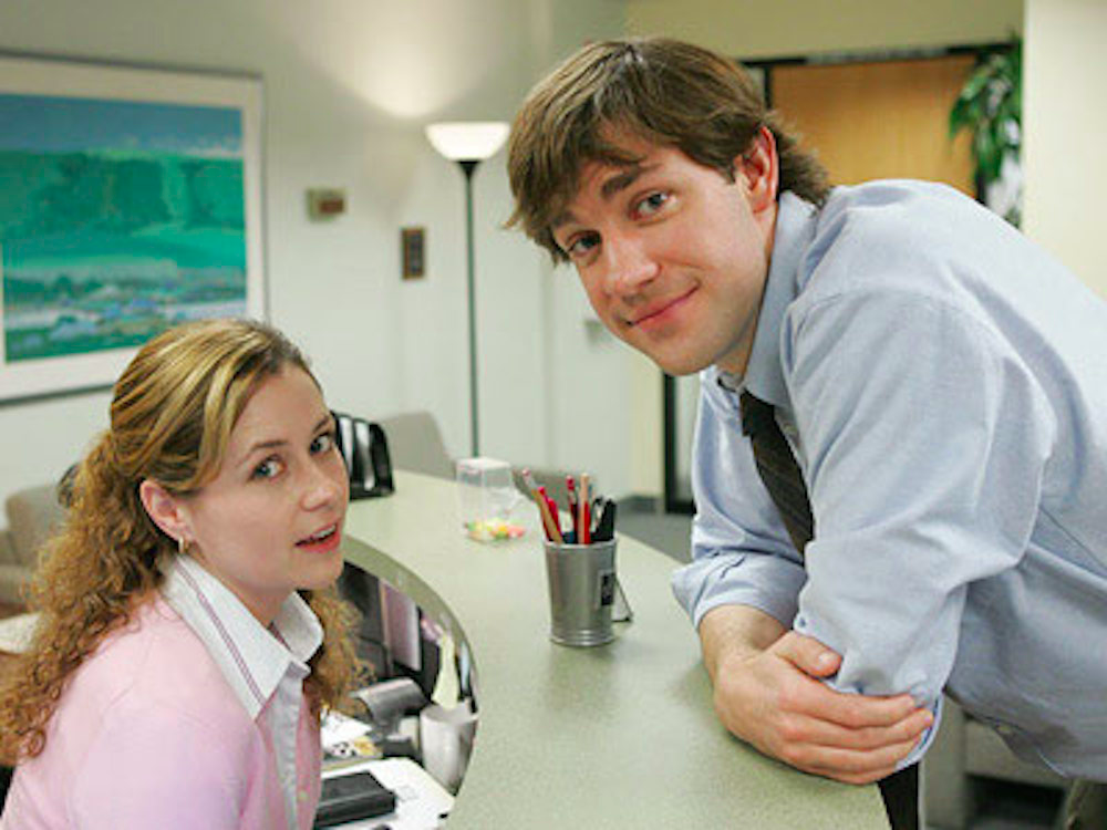 the office, jim, pam, coworker, dating, work, job, funny, stories, reddit