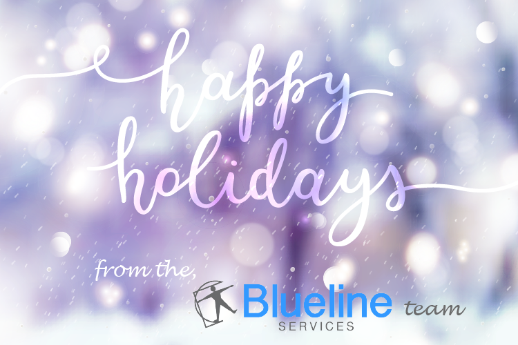 Happy Holidays From The Blueline Services Team!